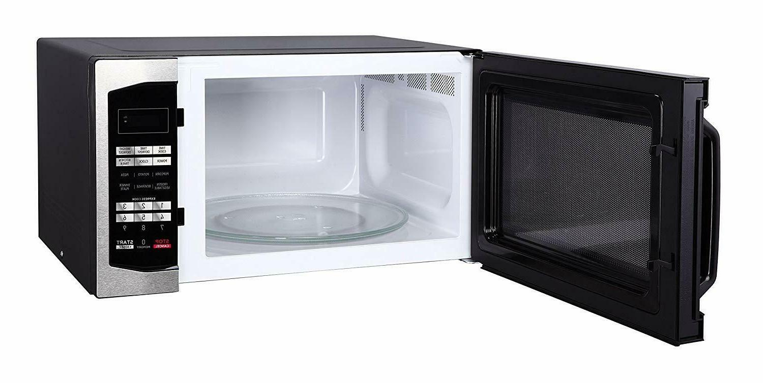 countertop microwave 1 6 cu ft gray