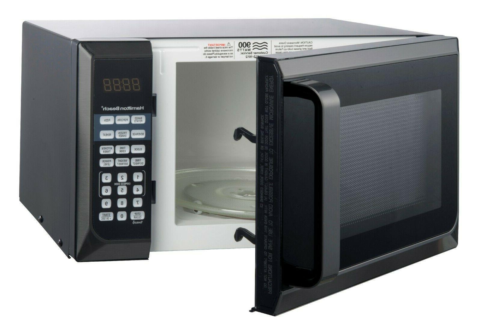 Countertop Steel Home Oven 900W 0.9 Cu Ft. BLACK