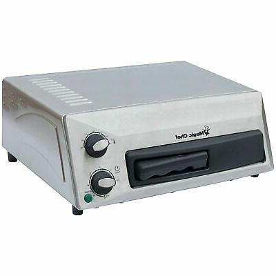 Magic Chef Countertop Pizza Oven in Stainless Steel