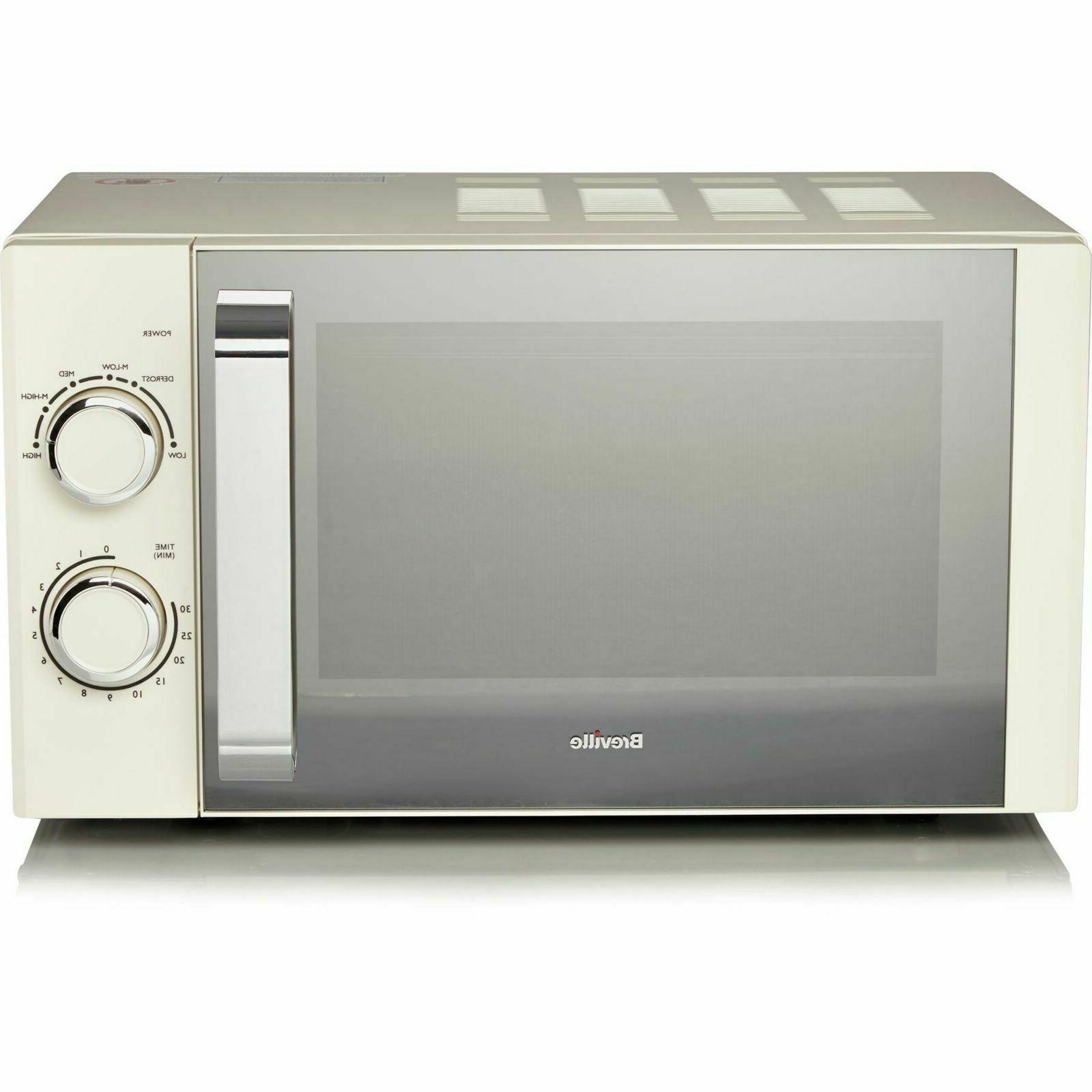 Cream Microwave Oven 17L Buy Kitchen Breville Best