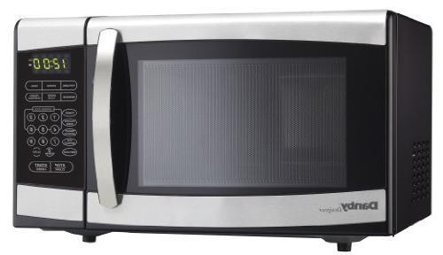 designer series dmw077blsdd countertop microwave