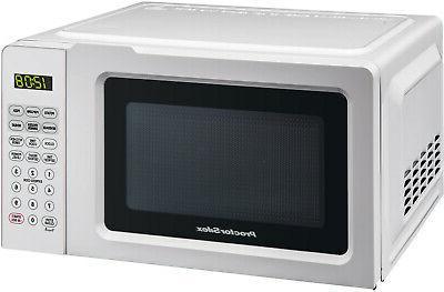 Kitchen Microwave Oven Digital Red Black White