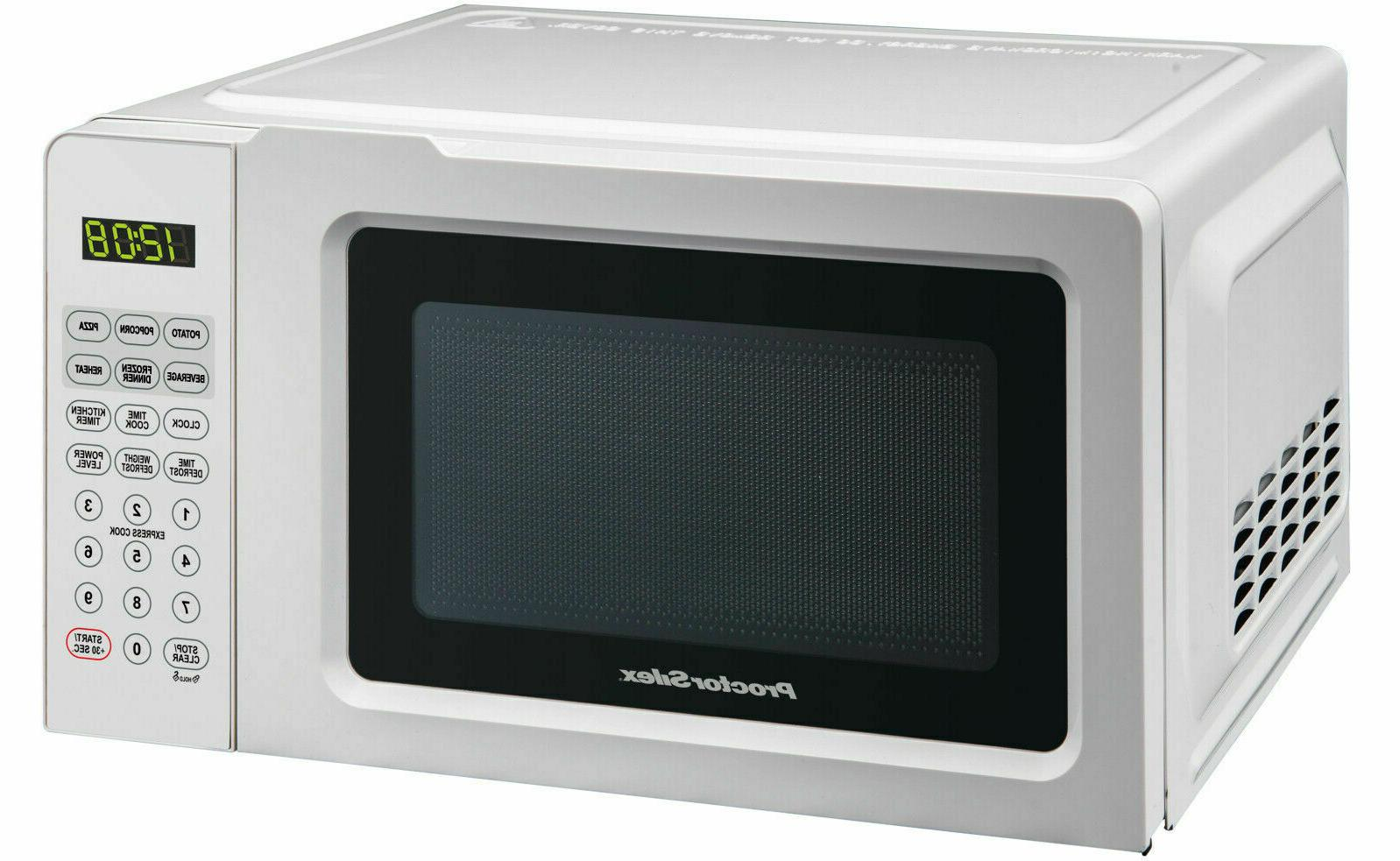 Digital Kitchen Countertop Microwave Oven Cooking Food Home
