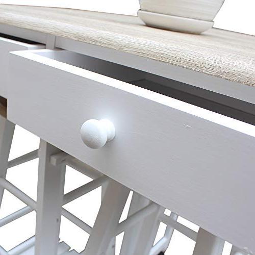 Binlin Kitchen Storage Utility Cart Countertop