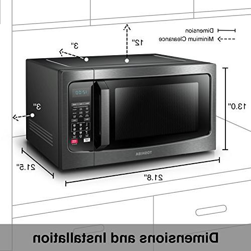 Microwave Oven With Convection Function: Toshiba EC042A5C-BS Microwave Oven With Convection