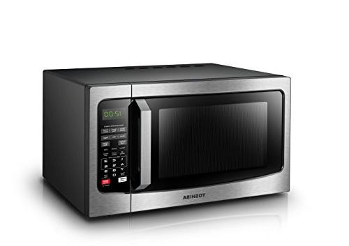Toshiba EM131A5C-SS Microwave Oven with Sensor, Easy Clean and Sound On/Off,