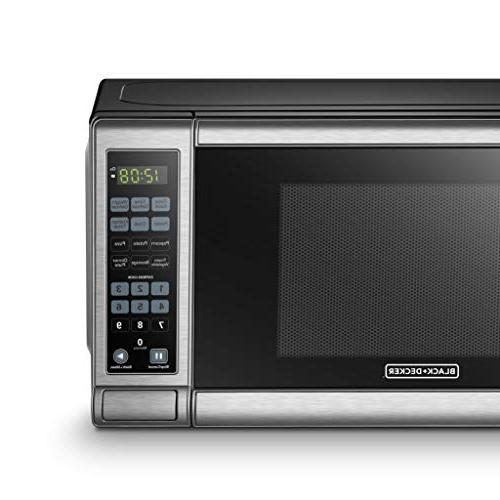 BLACK+DECKER Microwave Oven Steel