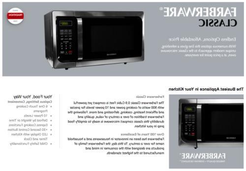 Farberware 0.9 Foot 900 Watt Stainless