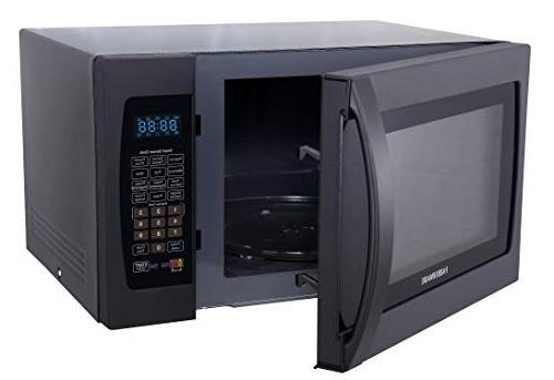 Farberware Cu. Oven Cooking, ECO LED Lighting, Frozen Black