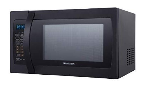 Farberware 1.3 Cu. Ft. 1100-Watt Oven Cooking, Mode LED Lighting,
