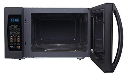 Farberware FMO13AHTBKF 1.3 Cu. 1100-Watt Oven with Cooking, LED Lighting,