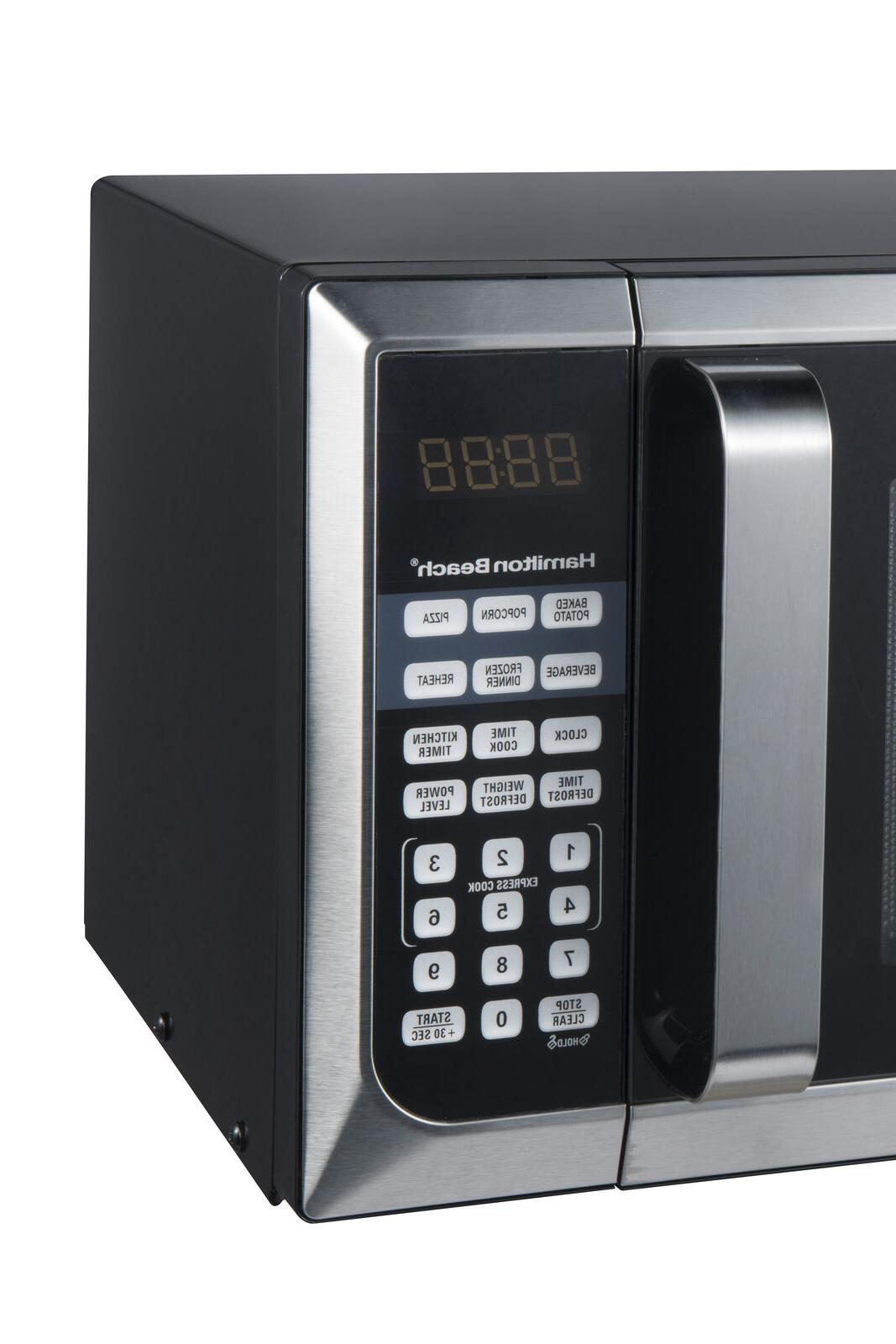 Hamilton Ft. Stainless Steel Microwave Oven