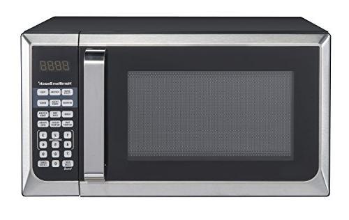 hamilton beach stainless steel microwave
