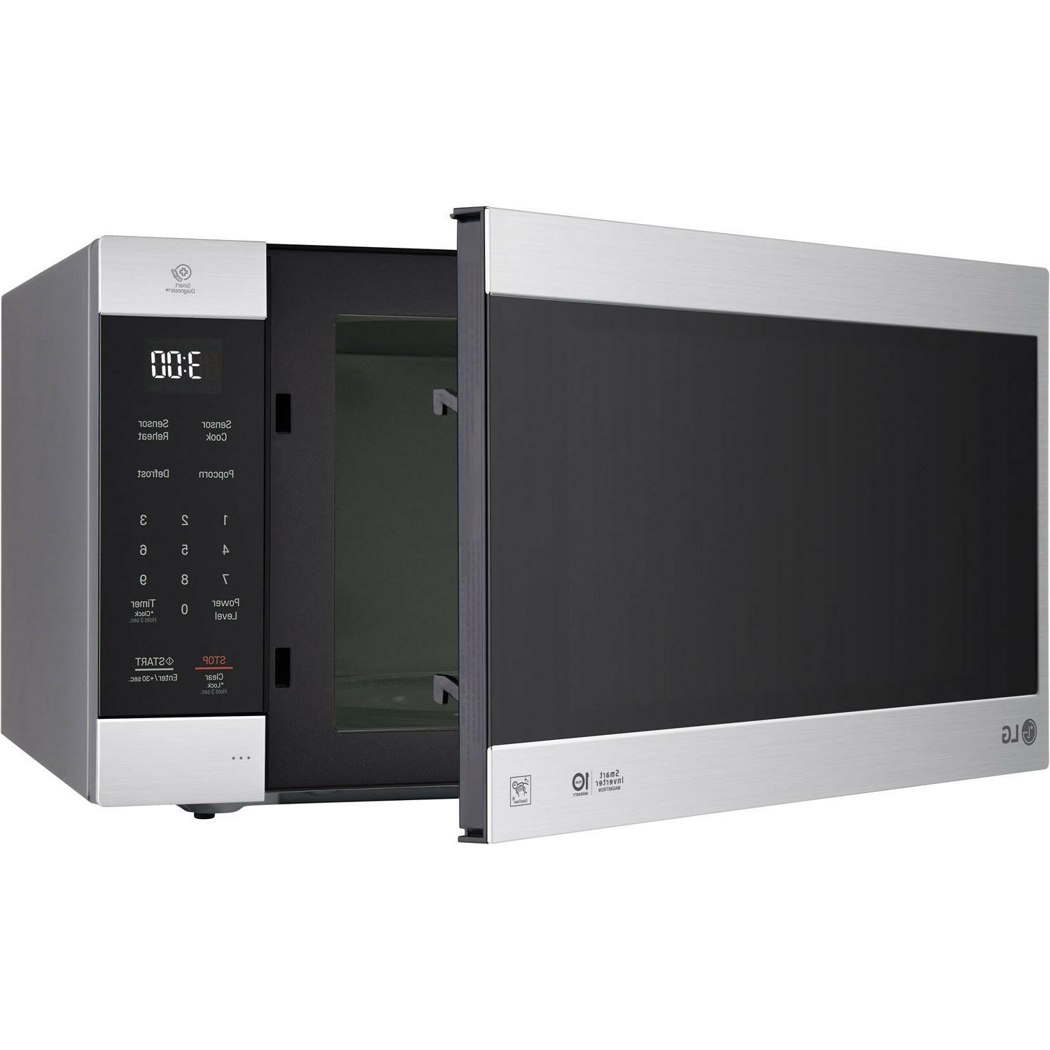 Kitchen Microwave Cu. Ft. 1200W Dining Area Stainless