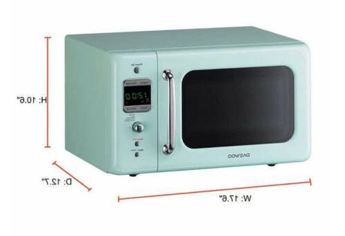 Daewoo KOR-7LREM Microwave Oven 0.7 700W Mint