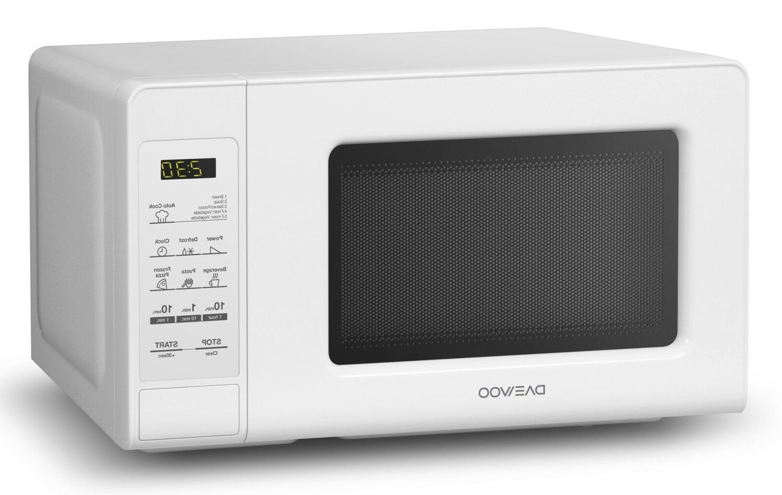 Daewoo KOR-760EW Countertop Oven 0.7 Cu. Ft., 700W  