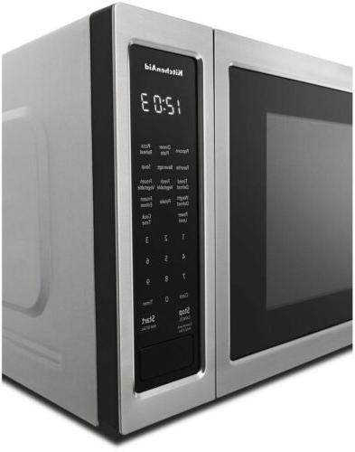 LED Display Stainless 1.6 cu.ft with Clock