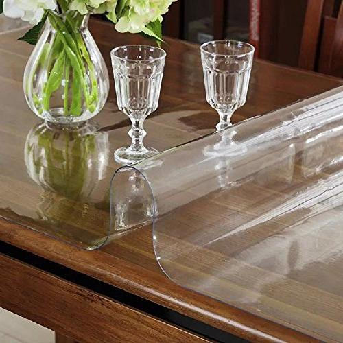 "LovePads Size Thick Custom Table Furniture Protective Cover Desk Top Coffee End Mat 38"" x 60"""