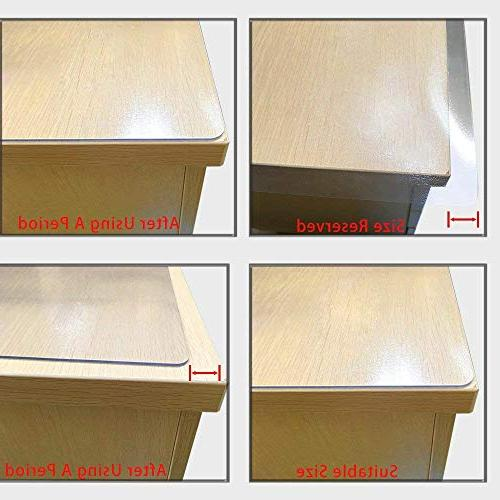 "LovePads Multi Size Thick Custom Table Protector Tablecloth Furniture Protective Desk Coffee Dining End 38"" x"