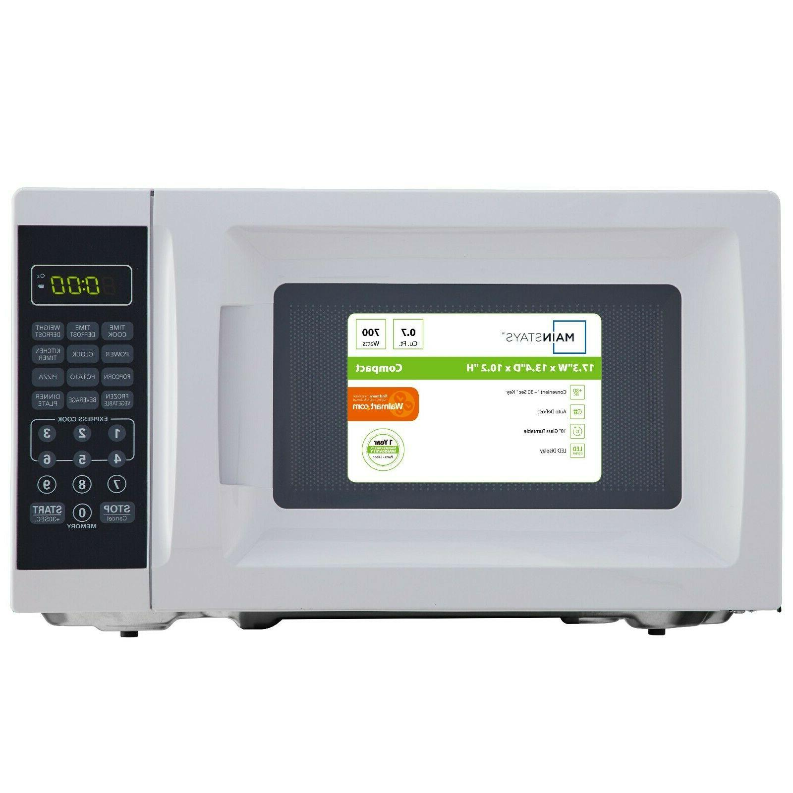 Mainstays 700W Microwave with 10 Power Levels Brand New 2020