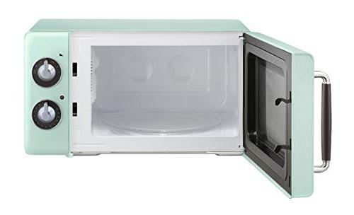 Magic Ft. 700W Microwave Oven in Mint Green.7