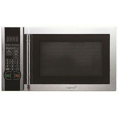 MAGIC CHEF MCM1110ST 1.1 Cubic-ft, 1,000-Watt Stainless Micr