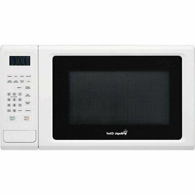 Magic Chef MCM1110W White Countertop Microwave 1.1 Cu ft 100