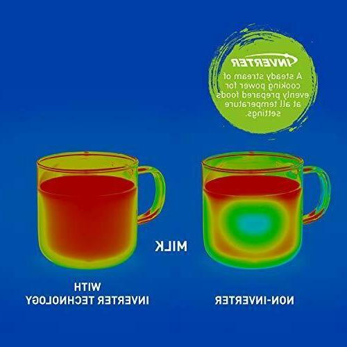 Microwave Countertop/Built-In Inverter Technology Genius Cu.