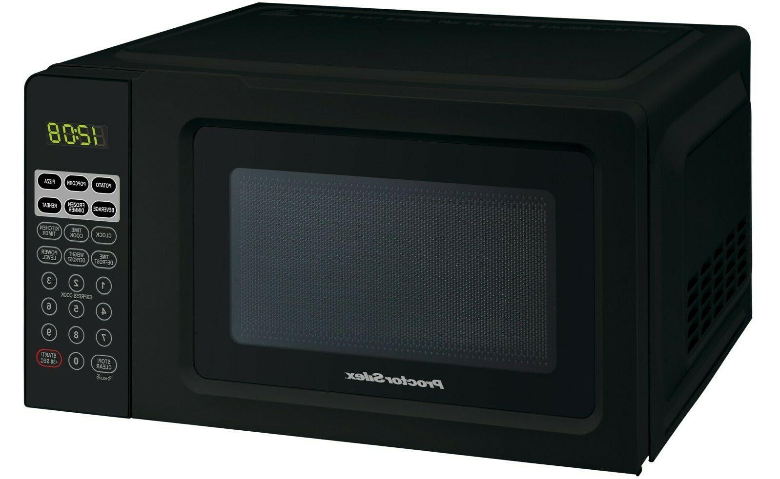 microwave oven digital compact countertop 7 cu