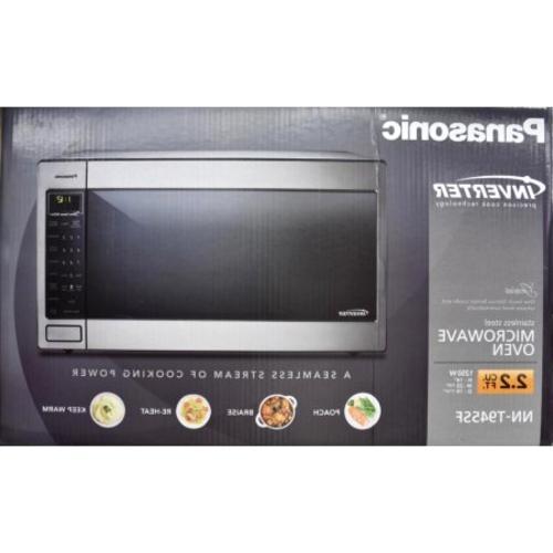 Panasonic 2 2 Cu Ft 1250 Watt Microwave Oven Stainless