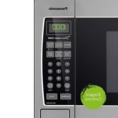 Panasonic Microwave Oven Nn Sn766s Stainless Steel Countertop Built In
