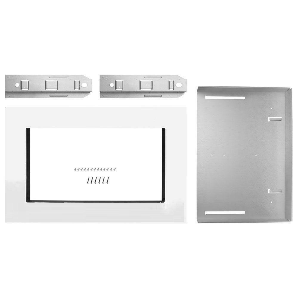 mk2167aw 27 trim kit for countertop microwaves