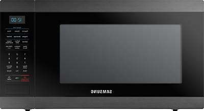 ms19m8020tg black stainless countertop microwave