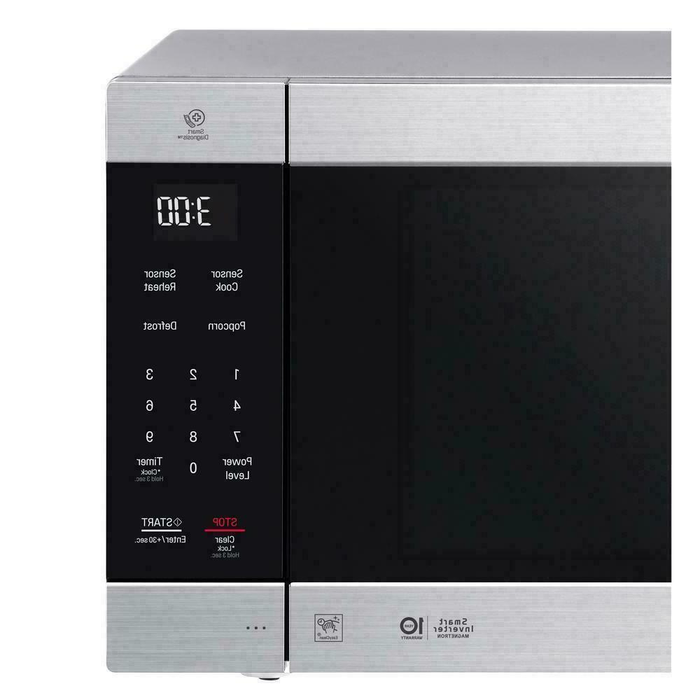 LG 2.0 Microwave with EasyClean - Stainless Steel