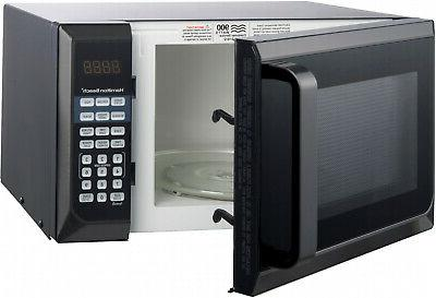 New Hamilton 0.9 Ft. Counter-Top Black Microwave Oven