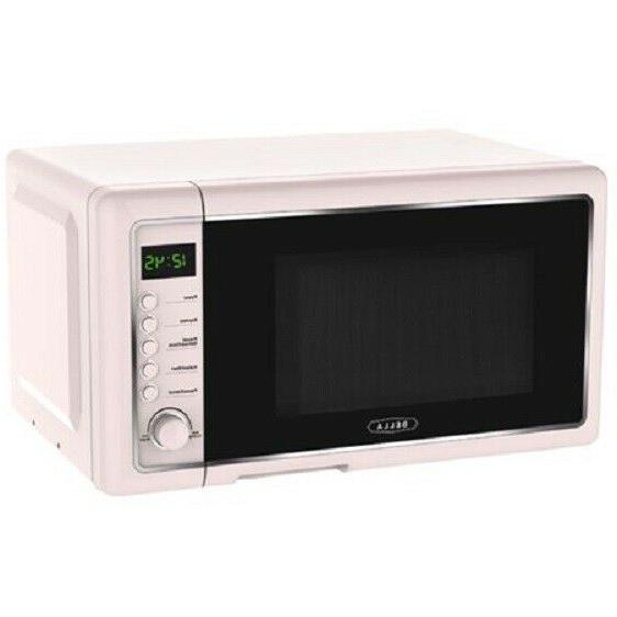 New Bella 0.7 Cu. Ft 700-Watt Countertop Microwave