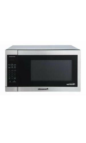 New Inverter STAINLESS COUNTERTOP MICROWAVE NN-SC668S