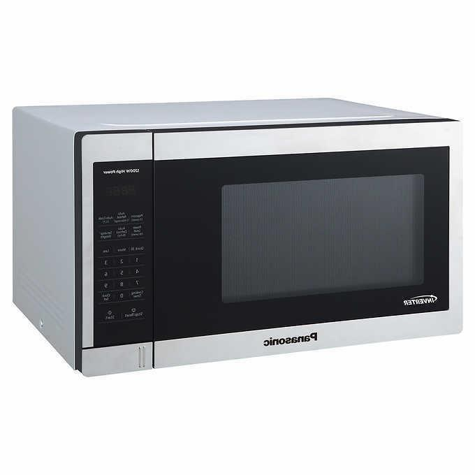 new inverter 1 3cuft stainless countertop microwave