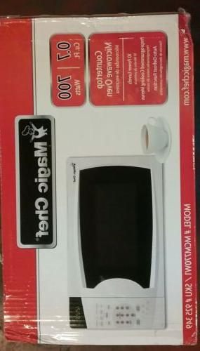 NEW!! Chef 0.7 cu. Countertop Microwave Oven