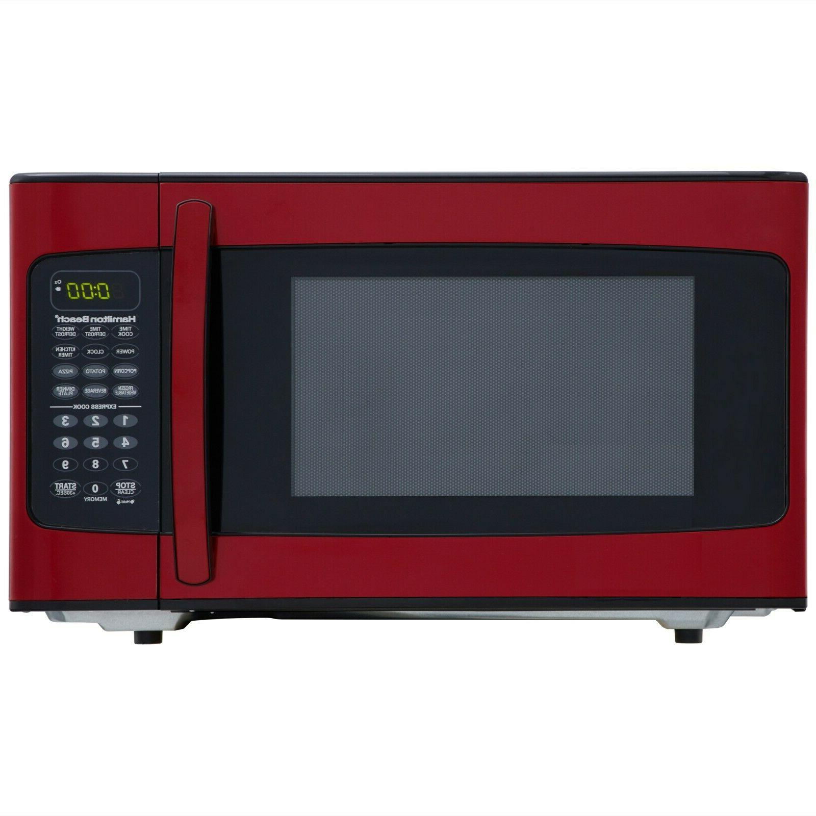 New Red Microwave - Dorm Room - Home - 1.1 cu. ft. Counterto