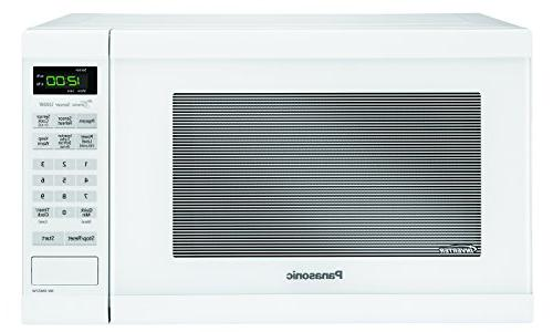 Panasonic NN-SN651WAZ White 1.2 Ft Countertop Microwave Oven Technology