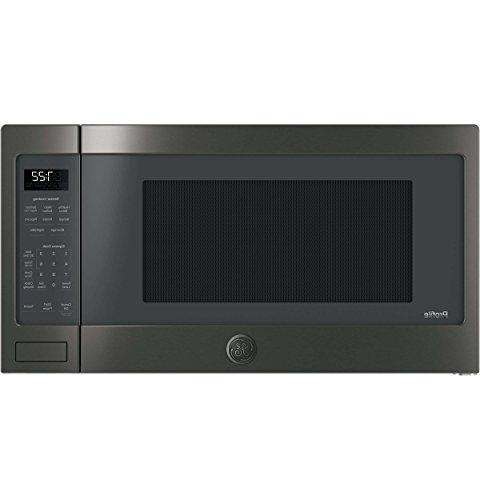 profile countertop microwave black stainless
