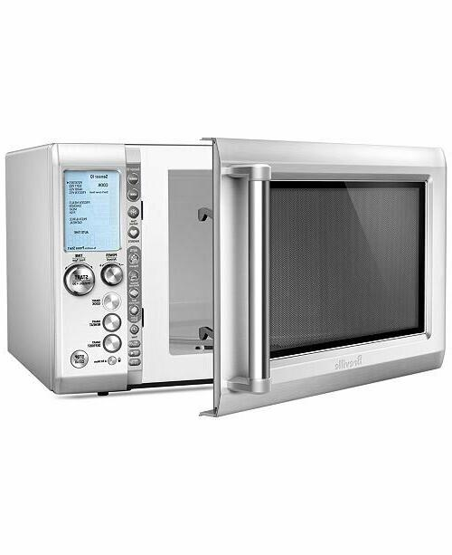 quick touch microwave silver bmo734xl