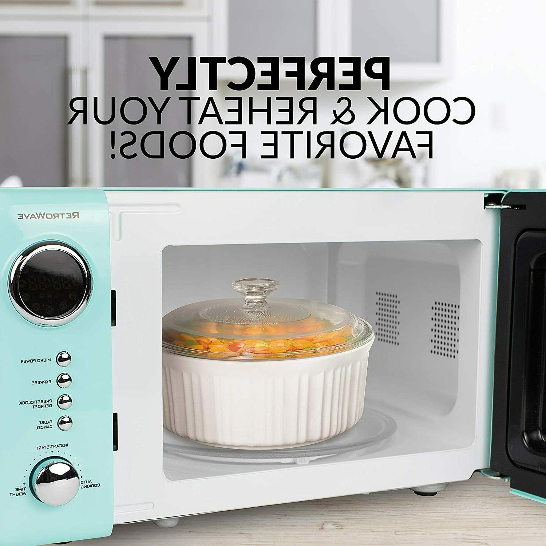 Retro 700-Watt Countertop Microwave