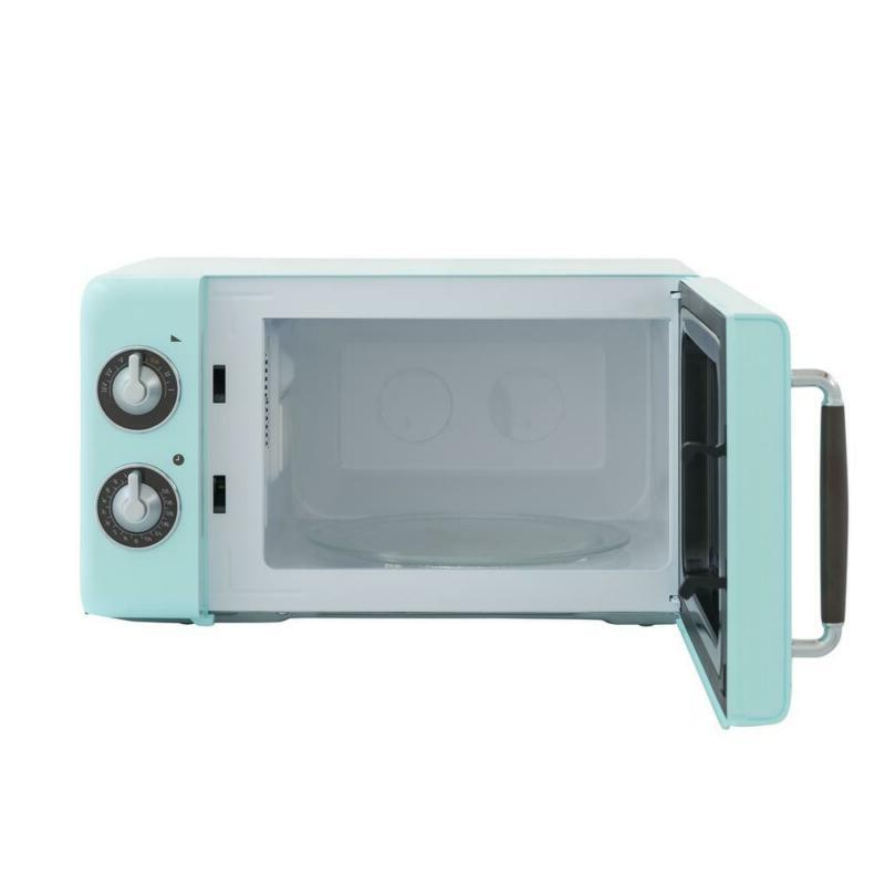 Retro ft. Countertop Microwave Mint Green
