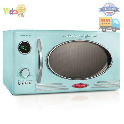 microwave oven vintage retro dorm room kitchen