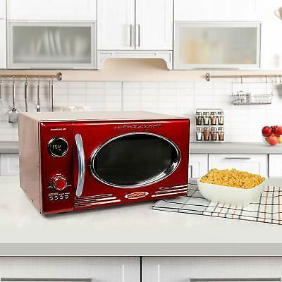 Nostalgia 0.9 cu ft, Countertop Microwave 12