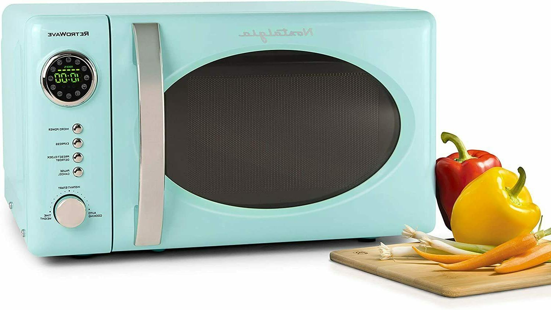 Retro 700-Watt Microwave 12