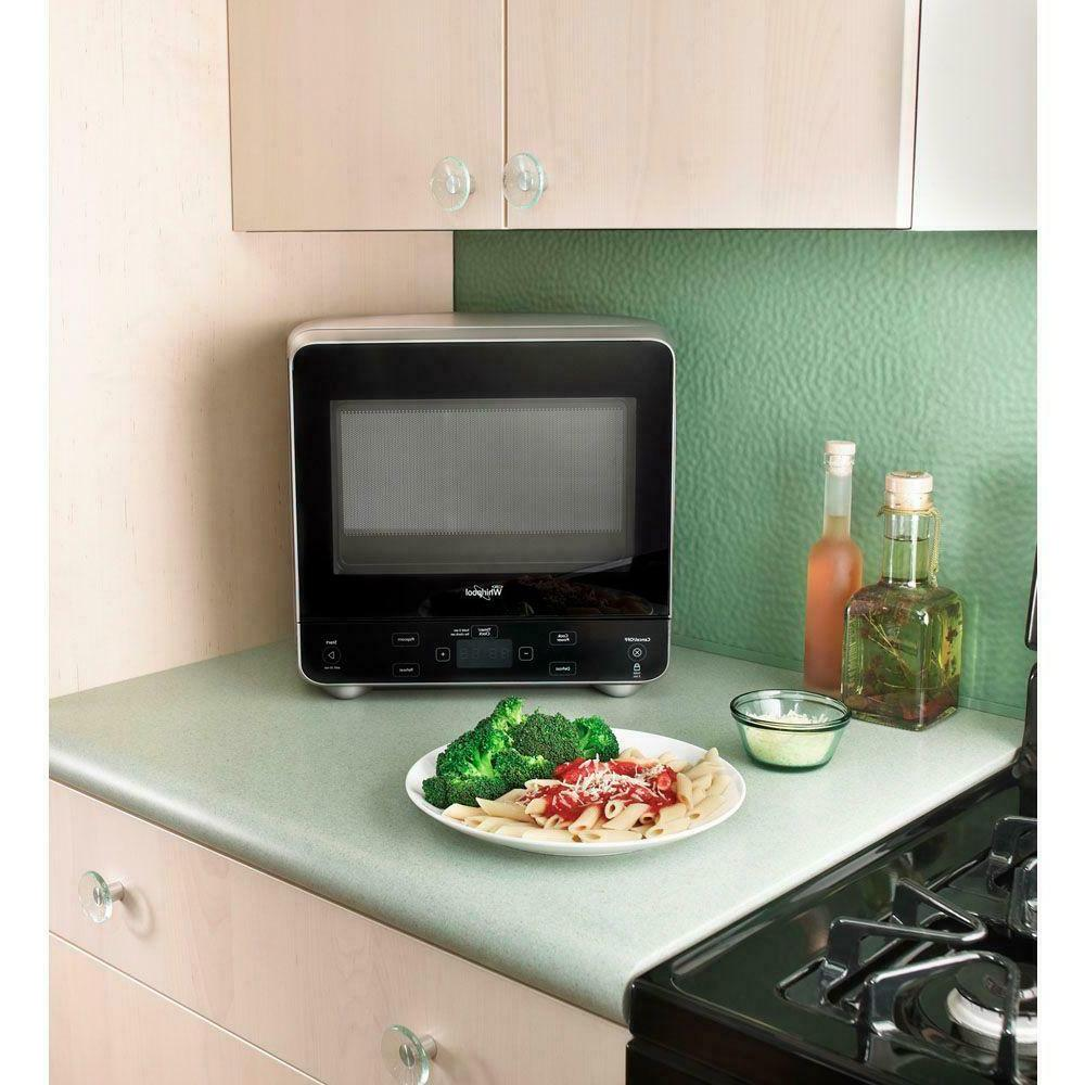Whirlpool Silver Oven 0.5 Cu Ft Fits in Corner