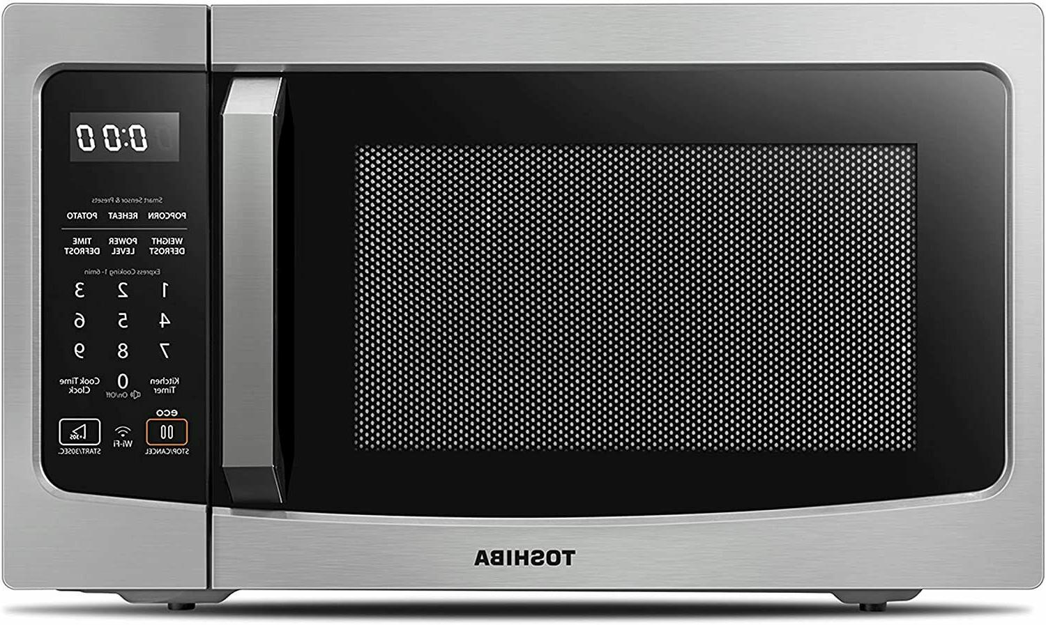 smart countertop microwave oven works with alexa